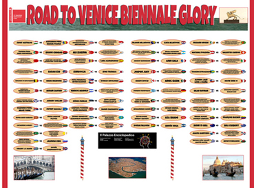 Road to Venice Biennale Glory, 2013
